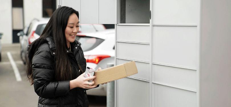 smart locker parcel pick up