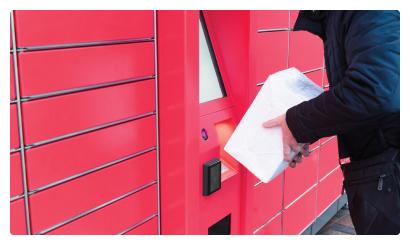 smart terminal parcel pick up