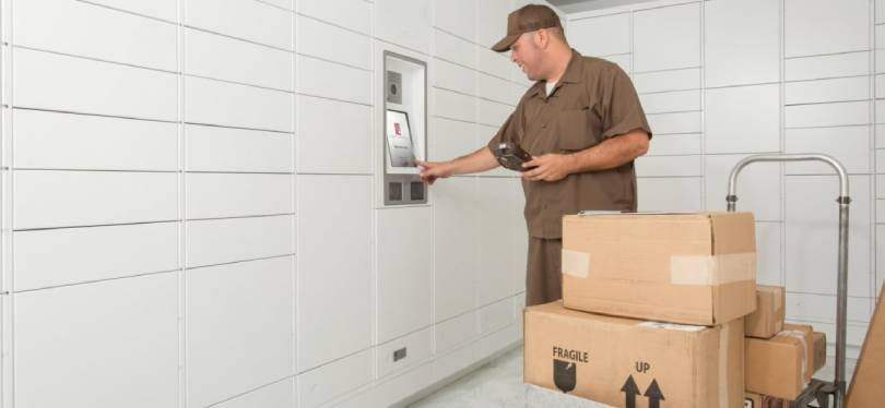 How to get package from parcel locker